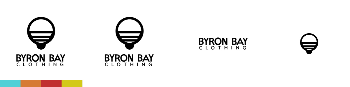 Byron Bay Clothing Logo Variations