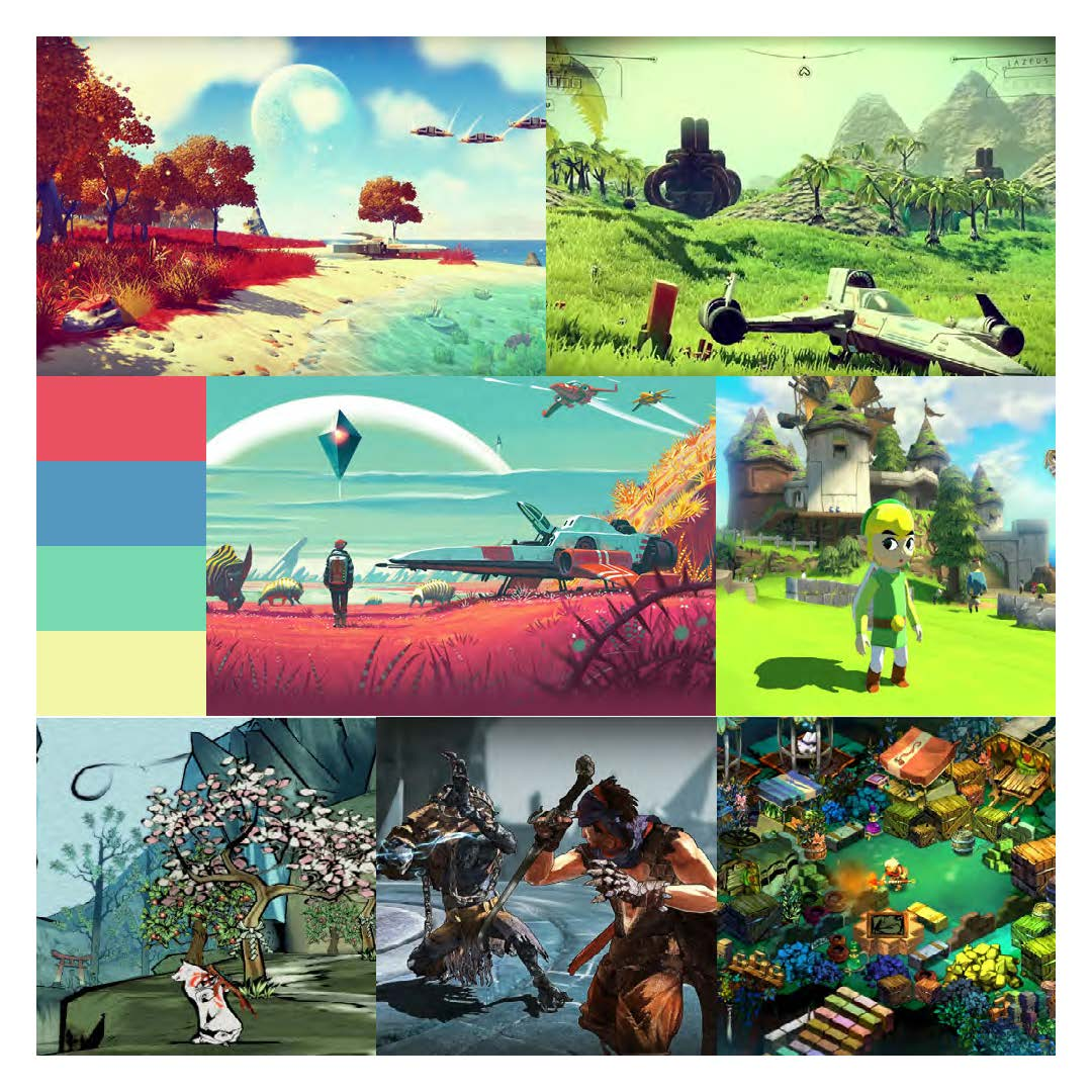 Numerous Game Cover Moodboard 2