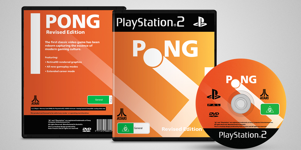 Pong Game Cover