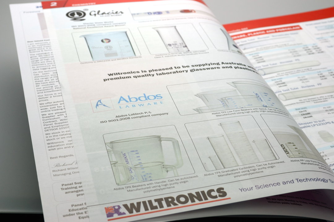 Wiltronics Catalogue 2013 Glassware