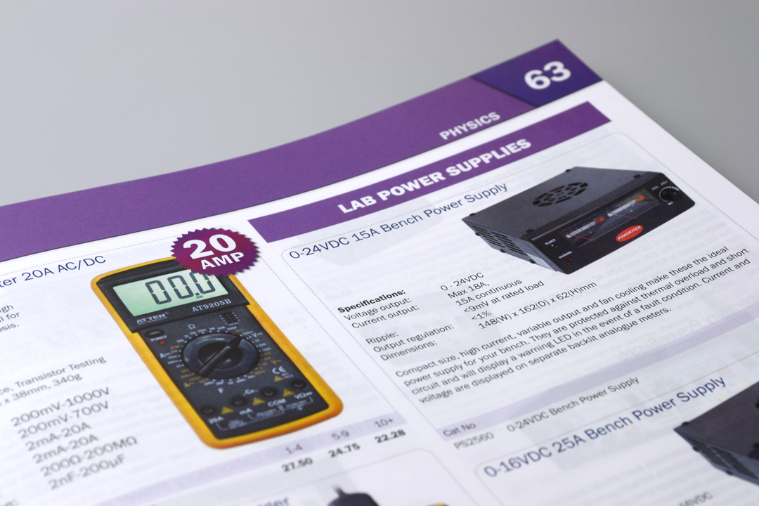 Wiltronics Catalogue 2013 Header