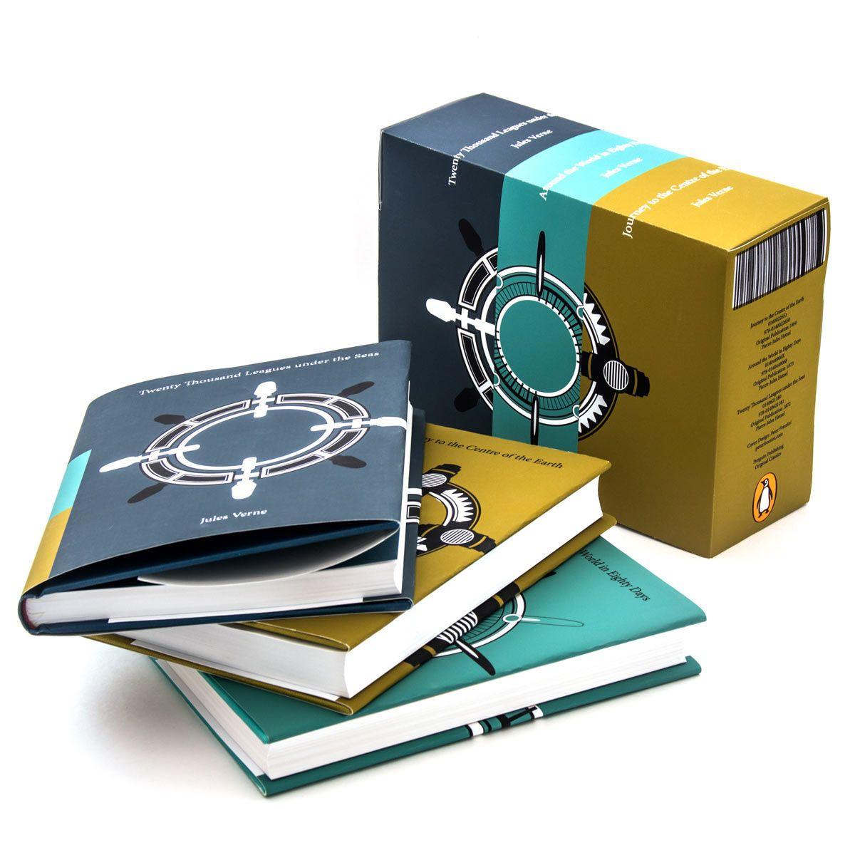 Jules Verne Book Set